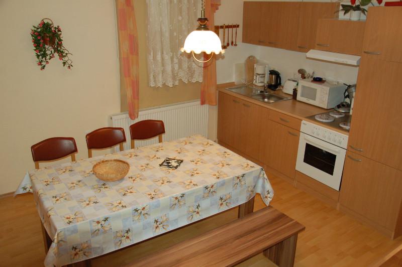Ferienwohnung oben Küche
